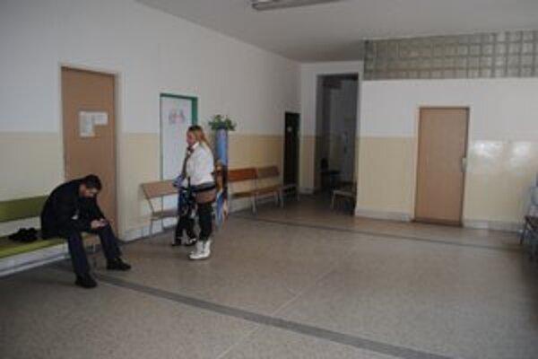 Interiér detskej polikliniky po rekonštrukcii.
