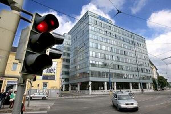 Sídlo firmy DELL v Bratislave.