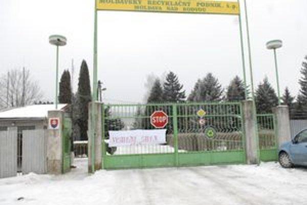 Moldavský recyklačný podnik.