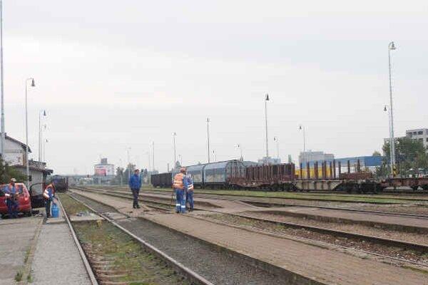 Oprava železničnej trate. Na úseku Strážske, Petrovce nad Laborcom a Michalovce.