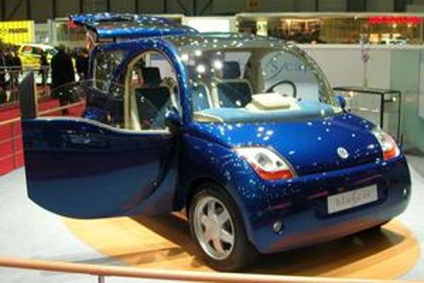 Spoločný model elektromobilu francúzskeho miliardára Vincenta Bollorého a dizajnérskej spoločnosti Pinifarina.