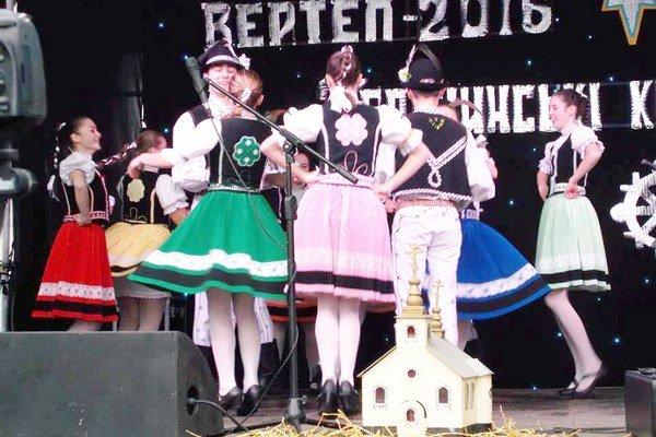 Sobrančania v Perečíne. Zúčastnili sa sa tradičných rusínskych sviatkoch.