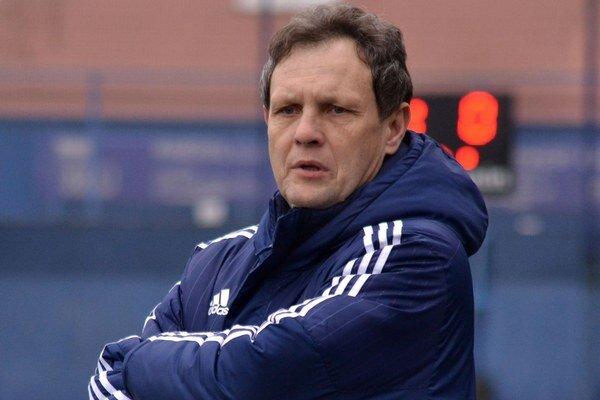 Tréner Stanislav Griga. Podarí sa mu zachrániť Michalovce vprvej lige?
