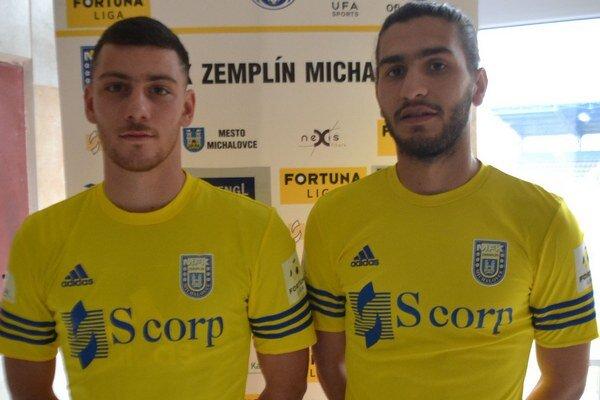 Grécke akvizície. P. Deligiannidis (vľavo) aK.Savvidis.
