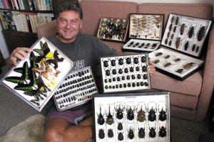 Rudolf Gabzdil ajeho chrobáky. Niektoré dokonca nesú jeho meno.