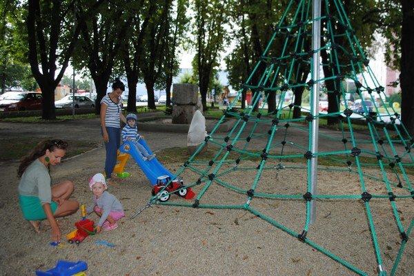Gaštanový park. Revitalizácia parku stála mesto vyše 10-tisíc eur.