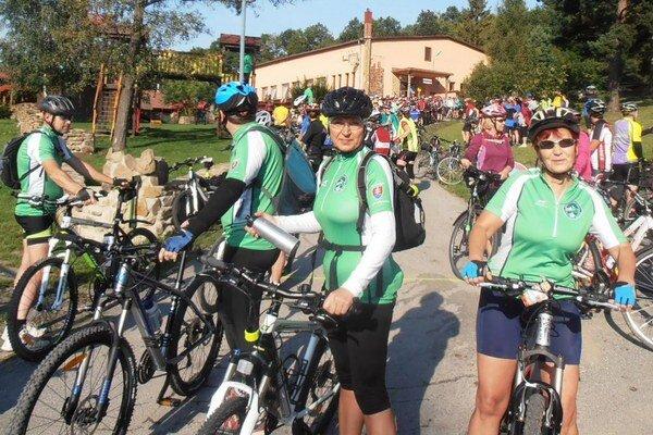Zraz cykloturistov. Zúčastnilo sa ho 280 turistov z celého Slovenska, Čiech, Poľska a Ukrajiny. Nechýbali ani Michalovčania.