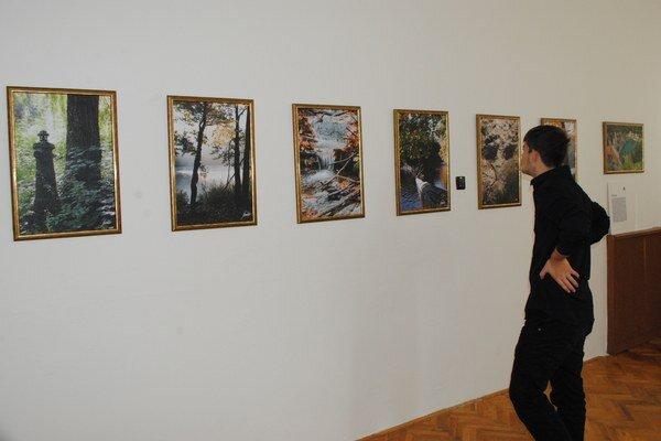 Výstava. Prezentuje na nej fotoobrazy z Morského oka, Sobraneckých kúpeľov, Beňatinského kameňolomu, mesta Sobrance, ale aj krásy Východoslovenskej vinohradníckej oblasti.