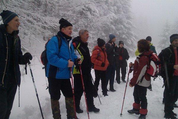 Výstup na Sninský kameň. Patrí medzi najstaršie regionálne turistické podujatia, ktoré začalo ešte pred 45 rokmi. Michalovskí turisti absolvovali výstup spolu so študentmi Gymnázia P. Horova.