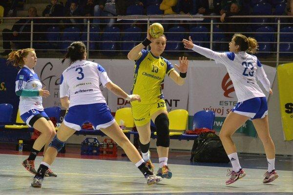 Veselí hladko zdolali. Michalovčanky zvíťazili o 13 gólov.