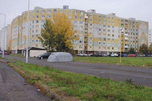 Michalovské sídlisko.