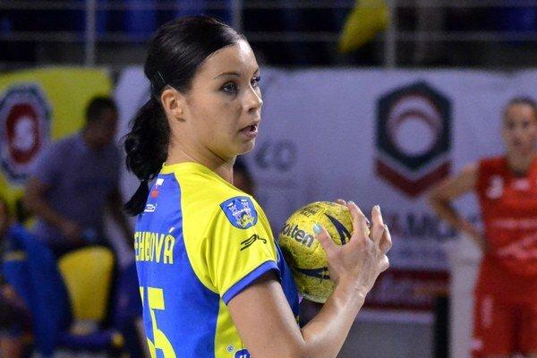 Tatiana Trehubová. So Zlínom čaká krajší zápas ako s Prešovom.