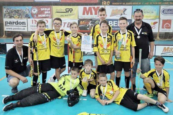 Chlapčenské družstvo vybojovalo si bronzové medaily.