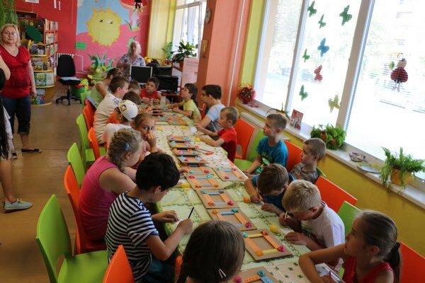 Detský tábor Kniholand. Prebieha v dvoch turnusoch, v júli a auguste.