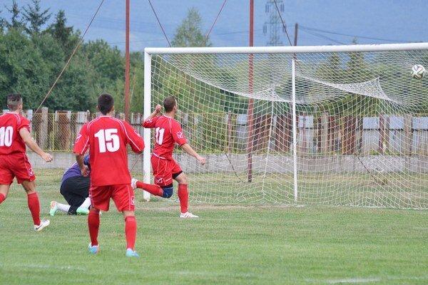 Prvý gól Strážskeho v novej sezóne. Postaral sa oň útočník Miroslav Karafa, ktorý vyrovnával na priebežných 1:1.