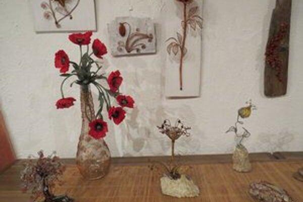 Diela. Prvotiny kvetinárok – kamarátok môžete vidieť do 18. mája vo FreeDome.
