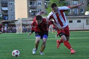 Inkasovali najmenej gólov. Medzi piliere defenzívy patril aj M. Ovák (vpravo).