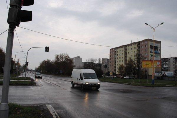 Križovatku nahradí kruhový objazd za 2,2 milióna eur.