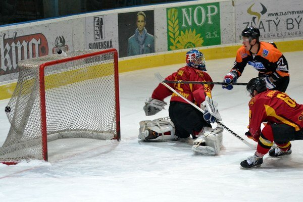 Otvárací gól Opatovského. Michalovský útočník takto prekonal topoľčianskeho Zimu.