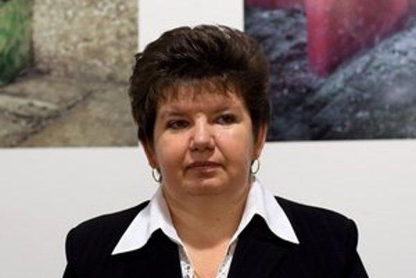 Erika Lakatošová z obce Ruská.