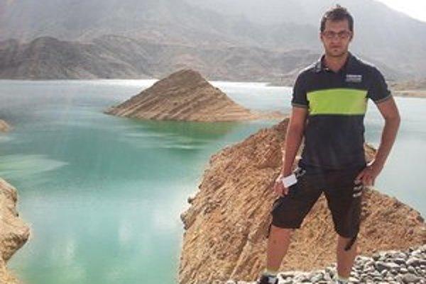 Michalovčan Maroš Hlad. Osobný masér cyklistu Petra Sagana.