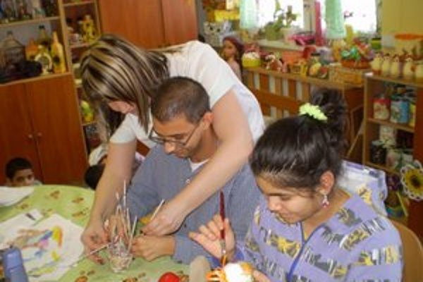 Vytvárajú umelecké diela. Práce detí z DSS získali uznanie aj na výstavách.