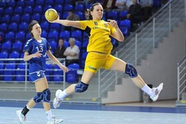Najlepšia strelkyňa dvojzápasu. Terézia Szöllösiová zaznamenala spolu 12 gólov.