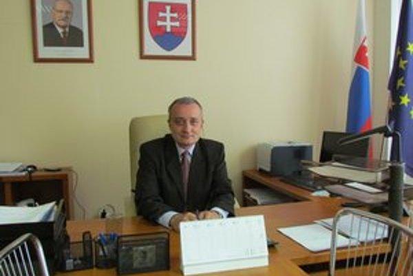 Marián Červeňák. Nový riaditeľ michalovského úradu práce.