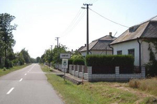 Obec Svätuš. Najmenšia obec Sobranského okresu.