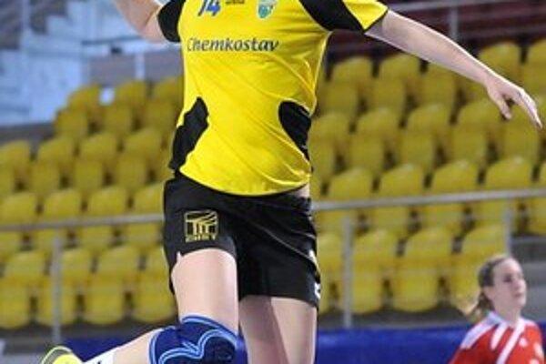 Martina Bačíková v Nitre zaznamenala dokopy 22 gólov.