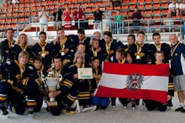 Obhajca prvenstva. Rakúske družstvo Tigers Viedeň.