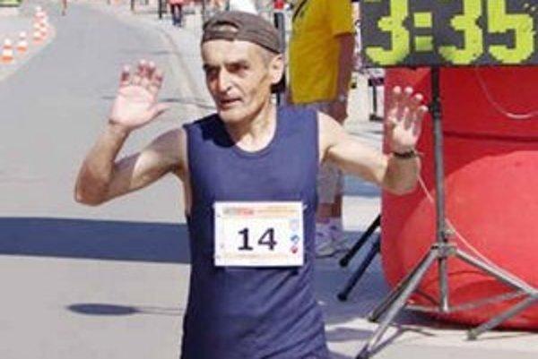 Vladimír Hirjak. Najusilovnejší zemplínsky maratónec.