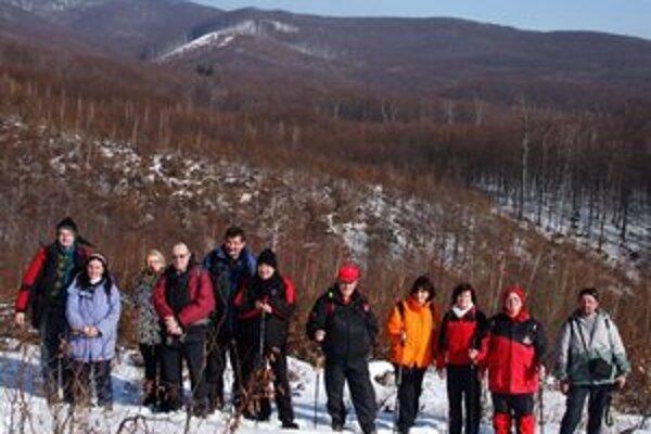Turisti. 6. regionálny zimný zraz sa vydaril.