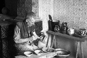 Michal Poľaško-Garbar (1883-1956). Bol jedným z posledných cechmajstrov.