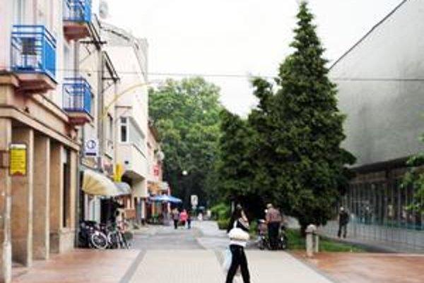 Pasáž. Mesto chce na rekonštrukciu troch ulíc získať z eurofondov ďalších 1,6 milióna eur.