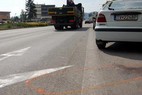 Tragédia v centre. K nehode, pri ktorej zahynul Blažej G., došlo v utorok neskoro v noci priamo v centre mesta.