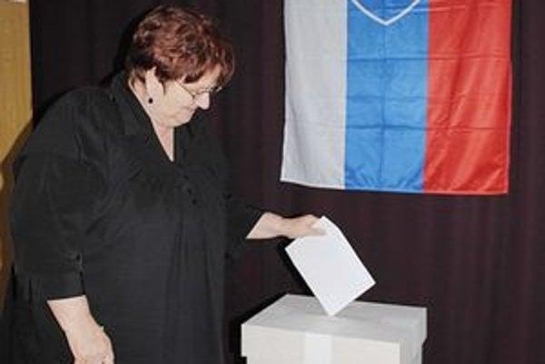 Obec Hudcovce. Bola jedinou v regióne Zemplína, kde sa konali doplňujúce voľby.