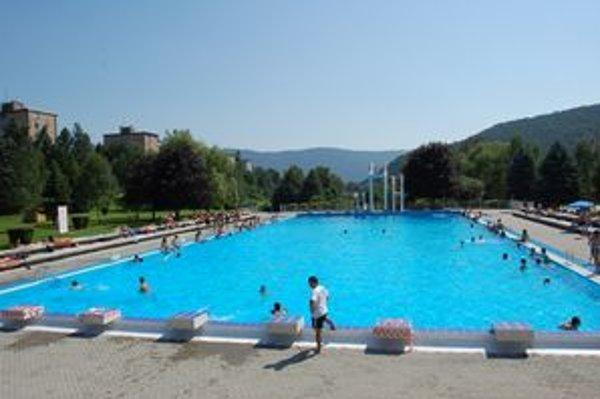 Kúpalisko v Rožňave. Toto leto ho navštívilo viac ako 20–tisíc ľudí.