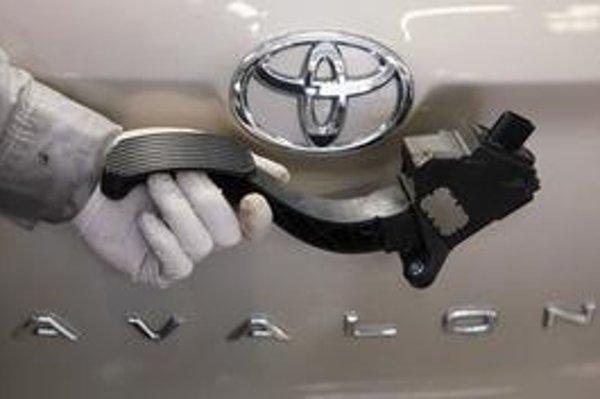 Na Slovensku sa predáva všetkých osem modelov Toyoty, ktoré majú poruchový plynový pedál.