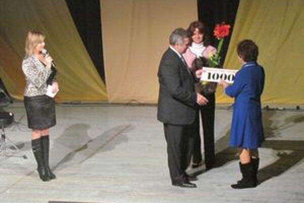 Výťažok z benefičného koncertu. Denný stacionár pre deti získal tisíc eur.