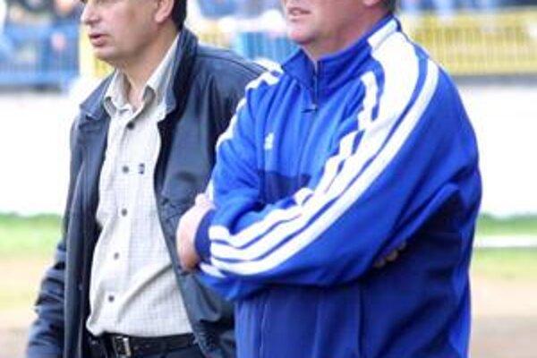 Oprášia spoluprácu. Vladimír Rusnák ml. a Emil Sudimák kormidlovali Michalovce už na jar v roku 2005.