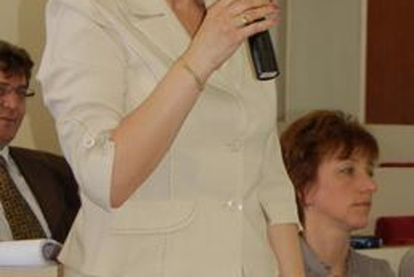 Marta Bobovníková. Našla podporu naprieč celým politickým spektrom.