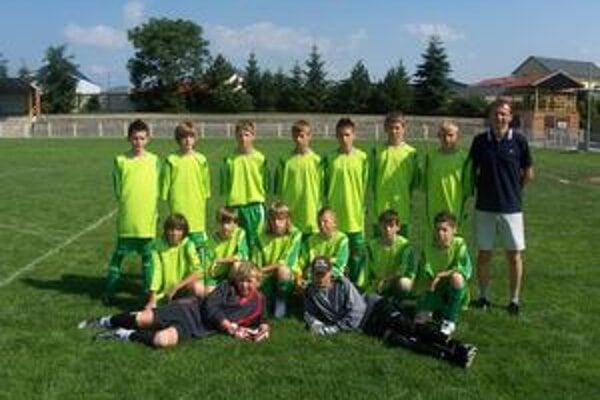 Semifinalisti. Mladí vranovskí futbalisti bojovali o medaily.