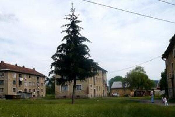Kolónia na ulici Duklianskych hrdinov.