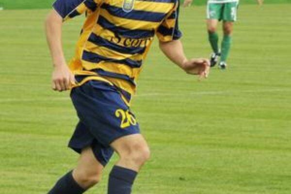 Jozef Tirer si za Michalovce zahral už v príprave proti Prešovu.
