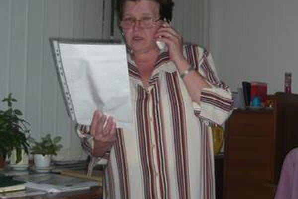 Katarína Cáriková. Predseda predstavenstva jej v telefóne tvrdil, že sa na rokovanie chystá. Hovorca nás po pár minútach informoval, že rokovať nebudú.