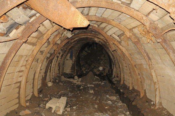 Štôlňa 43. Po likvidačných prácach ostala zatvorená pred verejnosťou.
