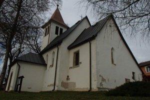 Danišovce - kostol sv. Márie Magdalény.