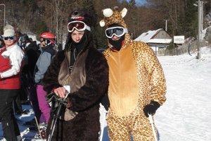 Masky. Pri lyžovaní neprekážali.