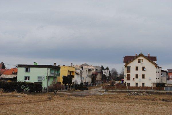 Spišské Tomášovce. Bytová výstavba sa rozrastá.